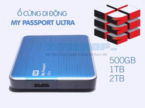 Mua Hàng VIP - O cung My Passport Ultra 1000 GB ( 1TB ) 3.0 di dong New 2014 cuc pro