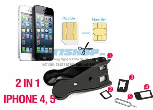 Mua Hàng VIP - Mua Kem cat sim da nang Micro Sim Cho Iphone 4 va iphone 5 .HTC ,Nokia