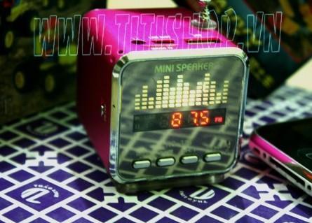 loa MINI 3 TRONG 1 phong cách kết nối USB,Thẻ nhớ .FM với âm thanh cực rõ Nghe FM trong .Cho bạn sự trải nghiệm ! muahangvip.vn muahangvip.com