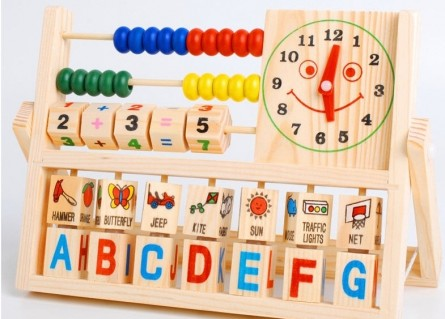 Bàn tính đa năng dành cho bé phát triển trí tuệ được thiết kế tinh xảo giúp bé phát triển tư duy cho bé Tập cho trẻ nhận biết nhanh