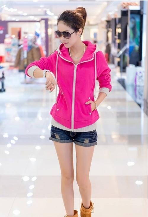 Mua Hàng VIP - MS 44-GS80 Ao Khoac Pink Color