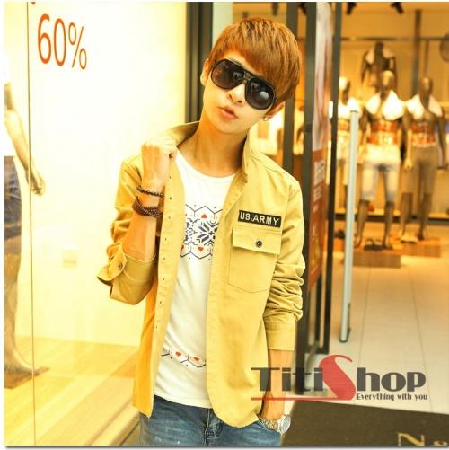 Mua Hàng VIP - Ao khoac vest nam K3033 ( Vang )