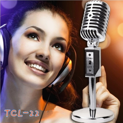 Mua Hàng VIP - Mini Microphone TCL22 Doc dao Chuyen thu am doc noi ( trang )