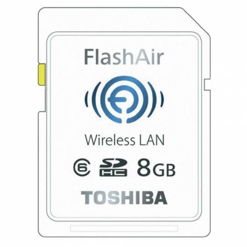 Mua Hàng VIP - Toshiba SD Wifi Toshiba 8GB Class10 FlashAir - The nho / 8Gb (Trang)