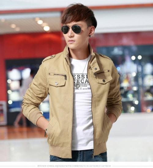 Mua Hàng VIP - Ao khoac nam Kaki Sanh dieu AKN268