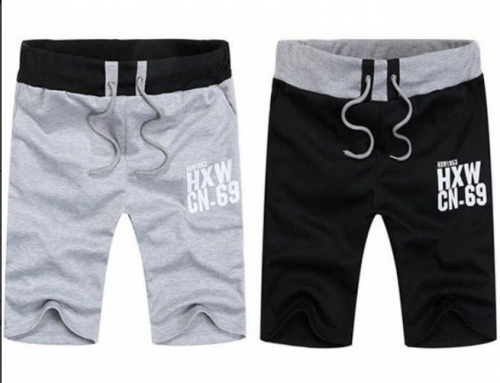 Mua Hàng VIP - Bo 2 quan shorts nam Titishop QS41 (Den - Xam)