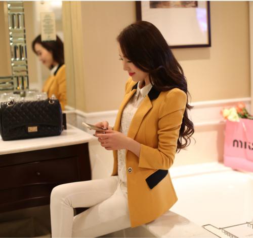 Mua Hàng VIP - Ao khoac vest nu Kakki Kim cuong AKVN96
