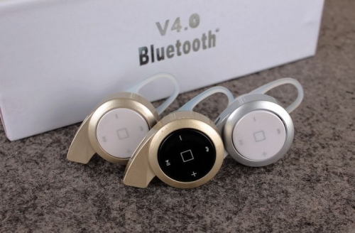 Mua Hàng VIP - Tai nghe bluetooth iphone Mini A8 (Bac)