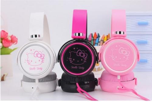 Mua Hàng VIP - Tai nghe chup tai Hello Kitty KT30 (Den)
