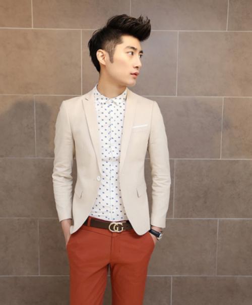 Mua Hàng VIP - Ao khoac Vest nam Cao cap AKN391 ( tang 1 ao thun khi mua san pham )