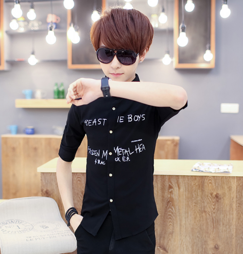 Mua Hàng VIP - Ao so mi nam SM313 THUN CO GIAN