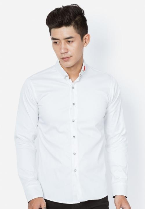 Mua Hàng VIP - Ao so mi nam theu hoa hong SM173 ( trang )