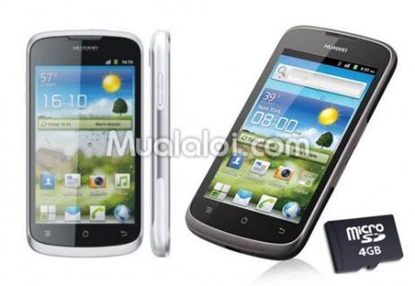 Điện thoại di động Huewei 8815 G300, tặng thẻ nhớ 4GB