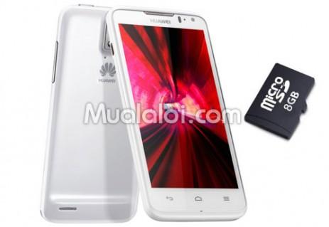 Điện thoại di động Huawei U9510E D Qual XL, tặng thẻ nhớ 8GB