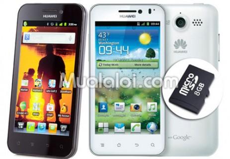 Điện thoại di động Huawei U8860-Honor, tặng thẻ nhớ 8GB