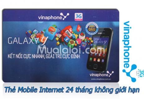 Internet di động không giới hạn, Max 40 Vinaphone 24 tháng