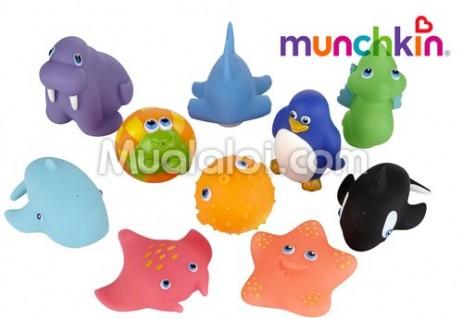 Đồ chơi phun nước 10 sinh vật biển Munchkin