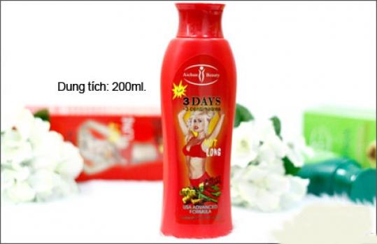 Kem thoa tan mỡ bụng Aichun Beauty – 3 DAYS (200ml) giảm mỡ...