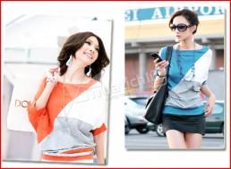 Áo thun cánh dơi Mix Color – chất liệu thun cotton cao cấp - màu sắc nổi bật, cho bạn gái vẻ đẹp hiện đại. Chỉ 87.000Đ có tại Muatichluy.com