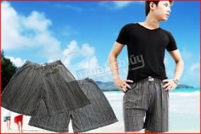 Combo 3 quần đùi nam thoáng mát, rộng rãi. Chất liệu thun mềm mịn. Chỉ 64.000Đ tại Muatichluy.com