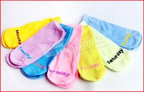 Bộ 7 đôi vớ nữ cổ ngắn cho tuần 7 ngày, chất liệu co giãn, mềm mại & thông thoáng. Chỉ 65.000Đ có tại Muatichluy.com
