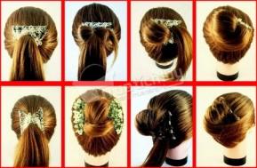 Kẹp tóc đa năng Magic Hair combs, cá tính, độc đáo với nhiều kiểu tóc lạ. Chỉ 44.000Đ có tại Muatichluy.com