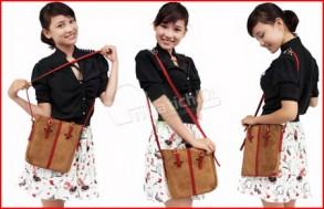 Túi da đeo chéo – chất liệu da lộn cao cấp, nhiều màu sắc trẻ trung. Chỉ 97.000Đ có tại Muatichluy.com