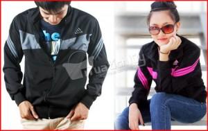 Áo khoác thể thao kiểu dáng Adidas dành cho nam & nữ - Thời trang - Năng động – Cá tính. Chỉ 105.000Đ, giảm đến 55% cho giá gốc 230.000Đ – Có tại Muatichluy.com