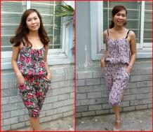 Trẻ trung, xinh đẹp với jumsuit hoa – thời trang & nữ tính. Chỉ với 95.000Đ