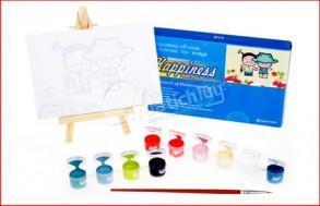 Bộ giá vẽ + tranh + 8 màu vẽ, cho bé yêu thỏa sức sáng tạo & thể hiện tài năng nghệ thuật. Giá 100.000Đ, còn 50.000Đ, giảm 50%. Chỉ có tại muatichluy.com
