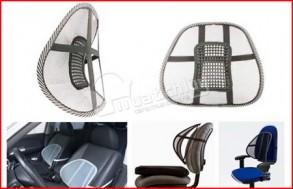 Tấm lưới tựa lưng có thiết kế đặc biệt, lớp lưới thông thoáng, cho bạn thư giãn, thoải mái khi ngồi làm việc thời gian dài. Chỉ 63.000Đ tại Muatichluy.com