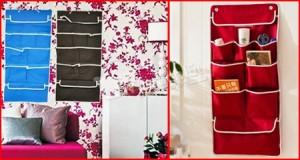 Túi vải treo tường 9 ngăn – chất liệu vải không dệt cao cấp – tiết kiệm không gian & giữ cho nhà bạn luôn gọn gàng, ngăn nắp. Chỉ 54.000Đ có tại Muatichluy.com