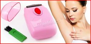 Máy wax lông mini, cho phái đẹp thêm tự tin. Giúp tẩy lông an toàn & hiệu quả các vùng dưới cánh tay, bẹn, chân, …Lưỡi dao sắc bén cùng thiết kế nhỏ gọn. Chỉ 45.000Đ tại Muatichluy.com