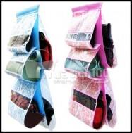 Túi treo giỏ xách 5 ngăn, vừa có tác dụng bảo vệ giỏ xách khỏi trầy xước & bụi bẩn, vừa trang trí căn phòng thêm xinh. Chỉ 57.000Đ có tại Muatichluy.com