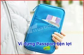 Ví du lịch cầm tay nhỏ gọn, thời trang, chất liệu vải dù không thấm nước. Đồng hành cùng bạn trong những chuyến đi. Chỉ tại Muatichluy.com bạn được giảm 55%.