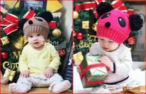 Nón gấu Panda, chất liệu len mềm mại, thông thoáng, kiểu dáng ngộ nghĩnh. Cho bé yêu thêm xinh xắn, dễ thương. Chỉ 79.000Đ tại Muatichluy.com