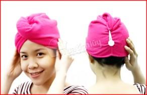 Combo 2 khăn quấn làm khô tóc, sợi lông mềm mại, khả năng thấm nước tốt, giúp tóc nhanh khô hơn sau khi tắm. Chỉ 47.000Đ tại Muatichluy.com - Đồ Dùng Cá Nhân
