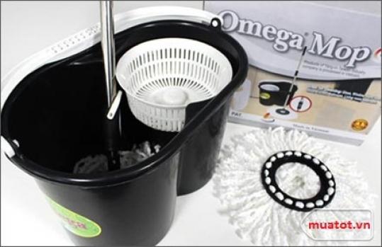 Cây Lau Nhà 360 Độ Omega Mop