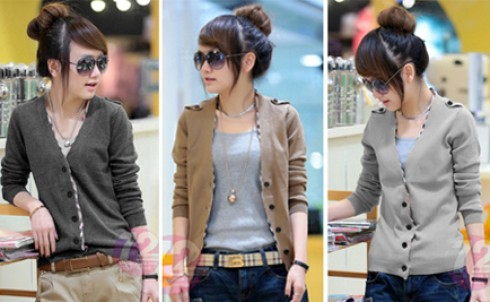 Áo khoác thời trang summer, giúp bạn gái thêm điệu đà, nữ tính giá chỉ 115.000đ - MD77