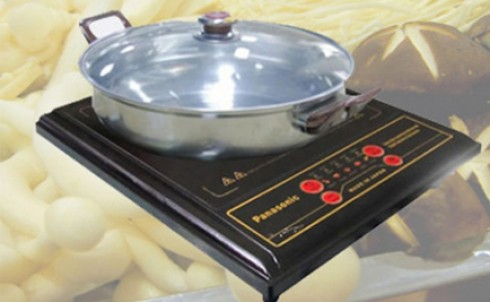 Bếp điện quang Panasonic, dễ dàng nấu nướng, tiện lợi, giá chỉ 299.000đ