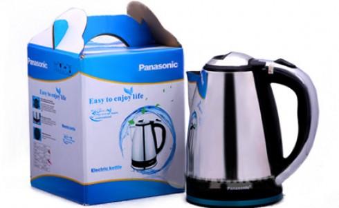 Ấm đun nước siêu tốc Panasonic 1,8L, giá chỉ 169.000đ