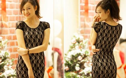 Đầm ren body phong cách Hàn Quốc