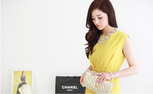Đầm công sở Lily phong cách Hàn Quốc