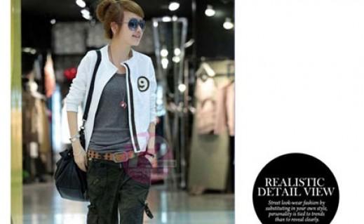 Áo khoác nine phong cách Hàn Quốc