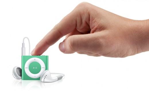 Máy nghe nhạc iPod Shuffle dùng thẻ nhớ