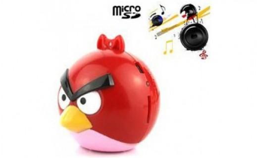 Máy Nghe Nhạc MP3 Hình Angry Bird