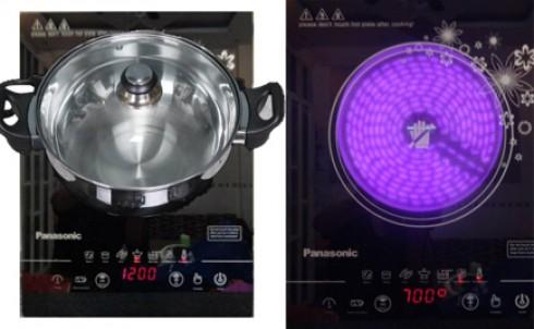 Bếp hồng ngoại cảm ứng Panasonic