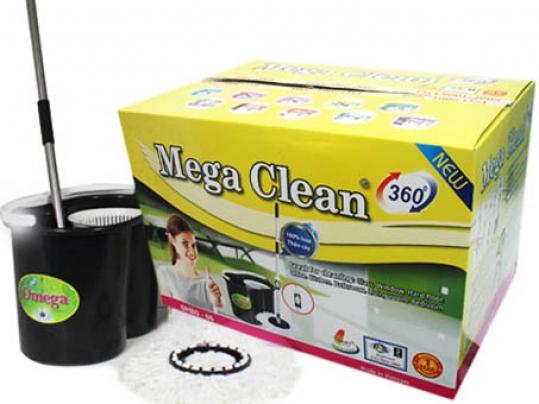 Bộ Lau Nhà 360 Độ Omega Mop Thông Minh