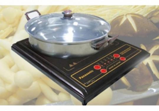 Bếp Điện Quang Panasonic - An toàn không gây khói, chịu nhiệt cao, tiệt kiệm điện và thời gian nấu ăn.