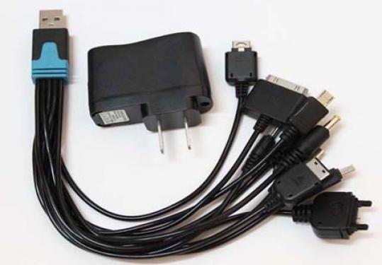 Sạc Đa Năng Đầu Cắm USB 10 Đầu